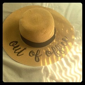 """Straw Hat """"Out of Office"""""""